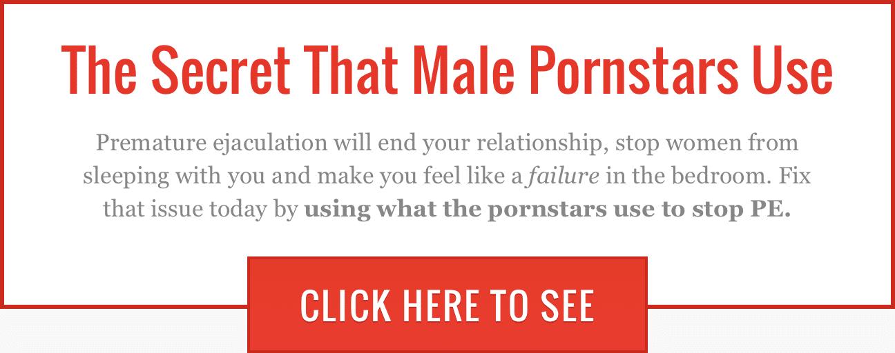 Male Pornstars Use This Secret To Last Longer