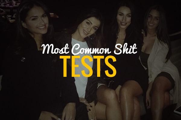 Never e shit tested again!