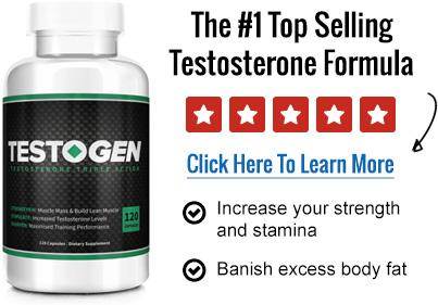 Bottle of Testogen.
