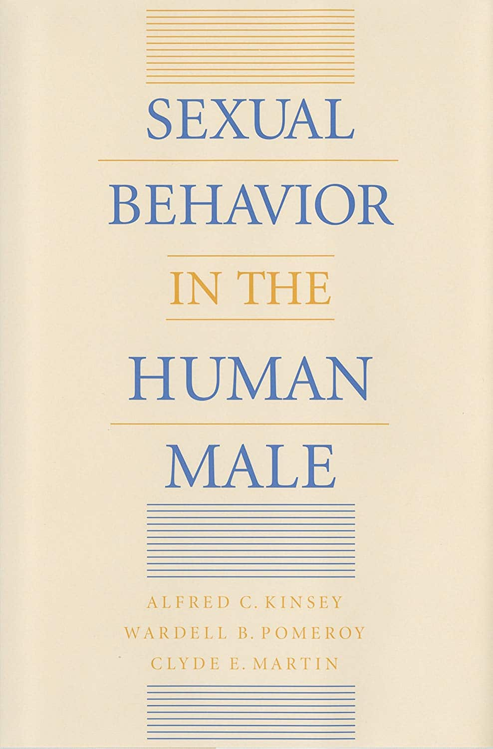 Sexual Behavior In The Human Male book cover