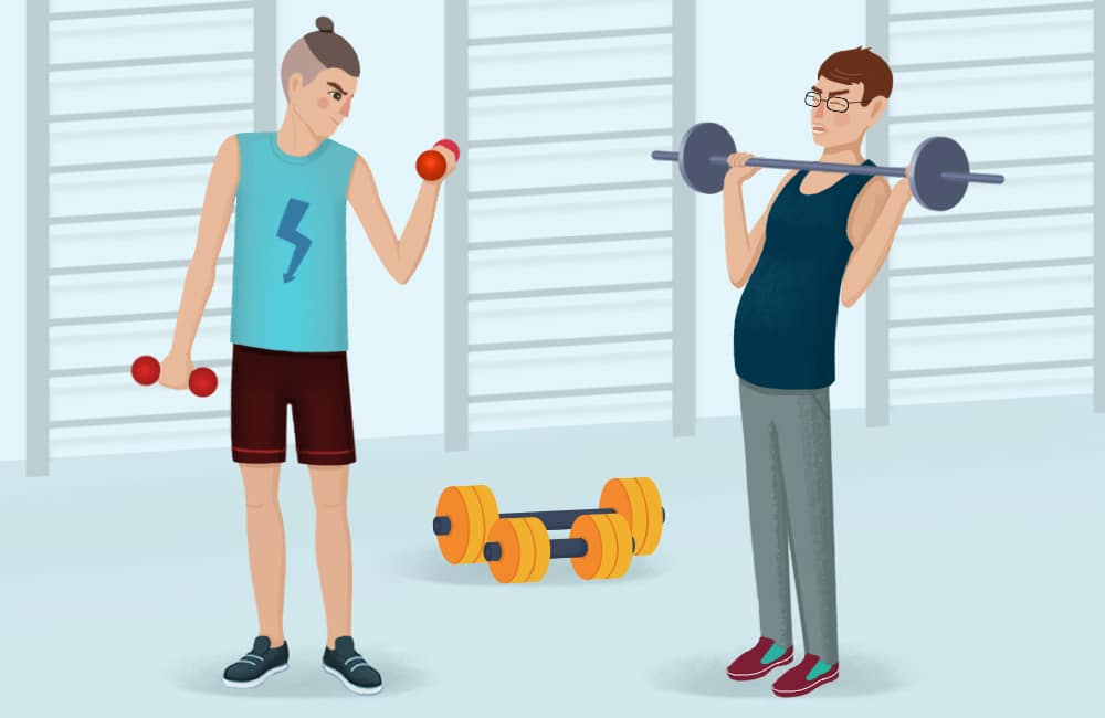 Do you lift bro? Men these days have low testosterone