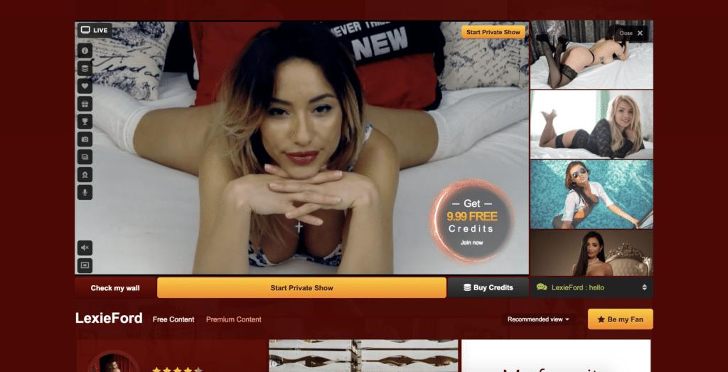 LexieFord - Live Jasmin