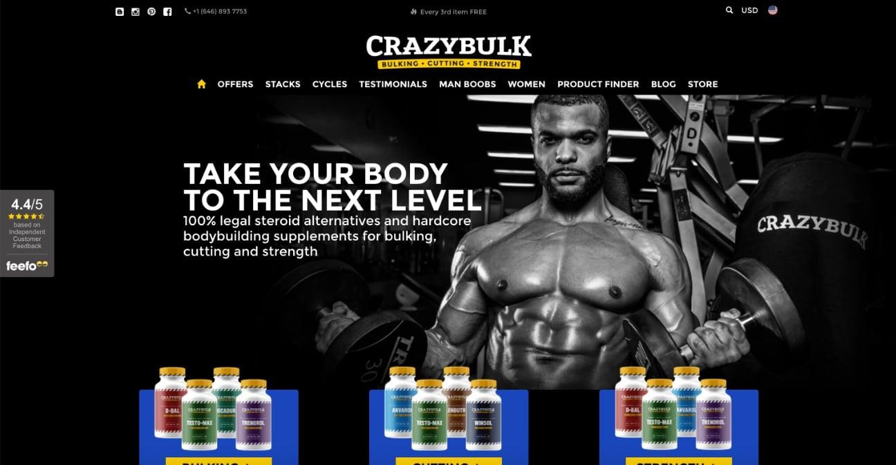 Crazy Bulk Review